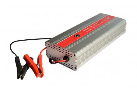 AUTOMATIC CAR BATTERY CHARGER 30A12V-15A24V 2 VOLTAGE IN 1
